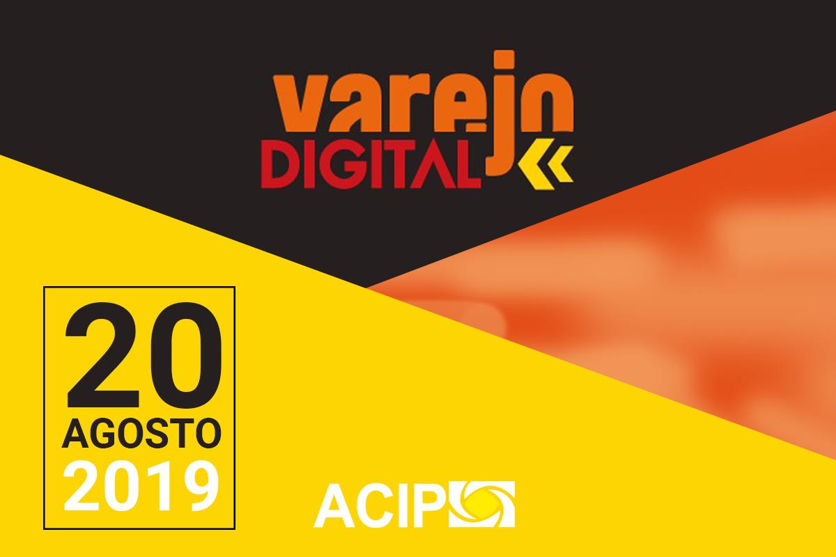 <p>A ACIP, em parceria com o Sebrae, realiza no dia 20 de agosto, o lançamento do Programa Varejo Digital. O evento acontecerá às 19h30, no auditório da ACIP. (Av....