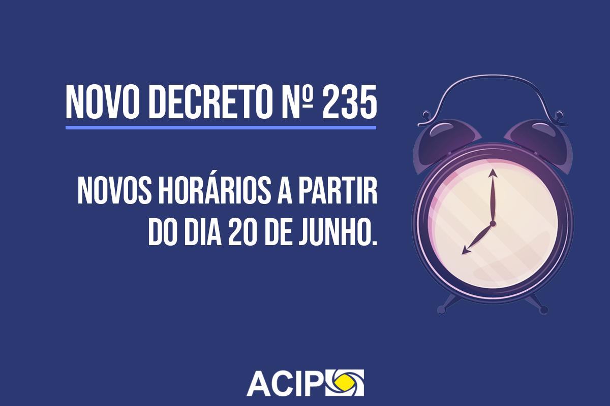 <p>A prefeitura de Paiçandu publicou na última quinta-feira, dia 18, o decreto 235/2020 que, entre outras determinações, altera o horário de funcionamento de alguns...