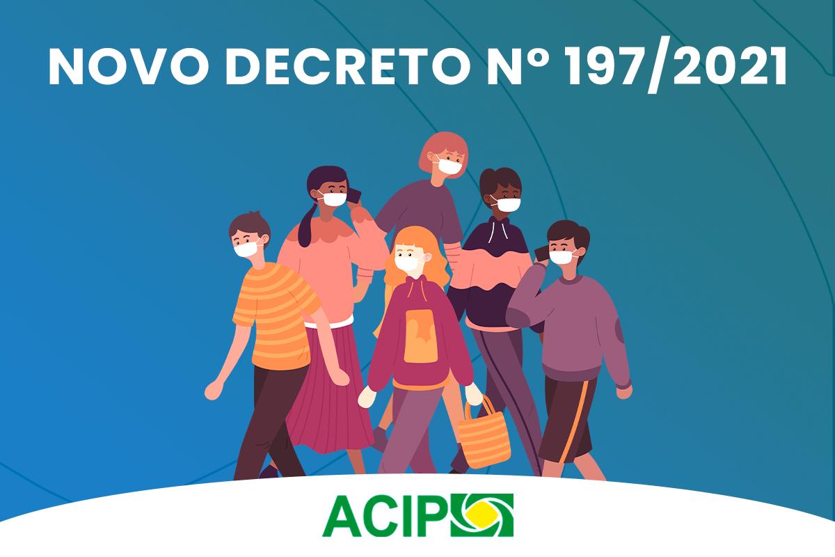 <p>A prefeitura de Paiçandu prorrogou, nesta quarta-feira, dia 28, o decreto nº 186, do dia 14 de abril, mas com algumas mudanças. O decreto nº 197, que trouxe essas...